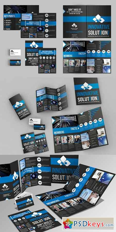 Set of Brochures Stationery 06 871444