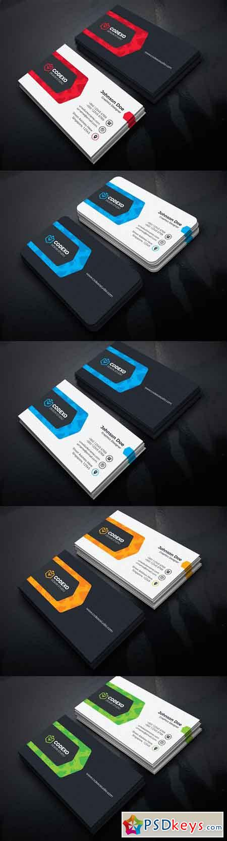 Modern Business Card 1827646
