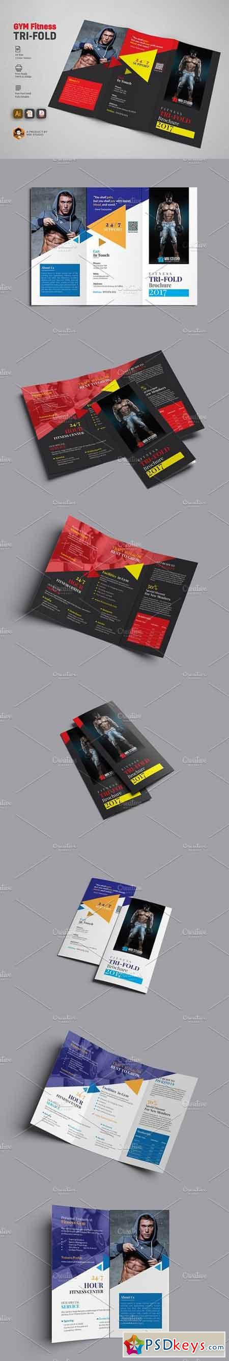 GYM Trifold Brochure 1793096