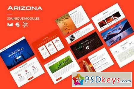 Arizona Template + Online Builder 1771665