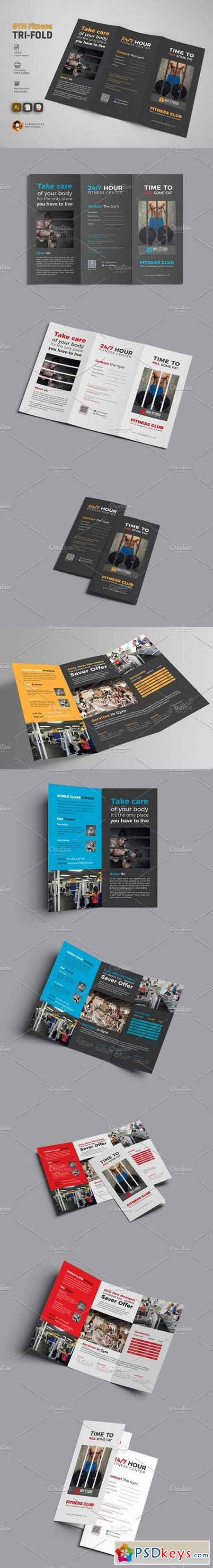 GYM Trifold Brochure 1793093