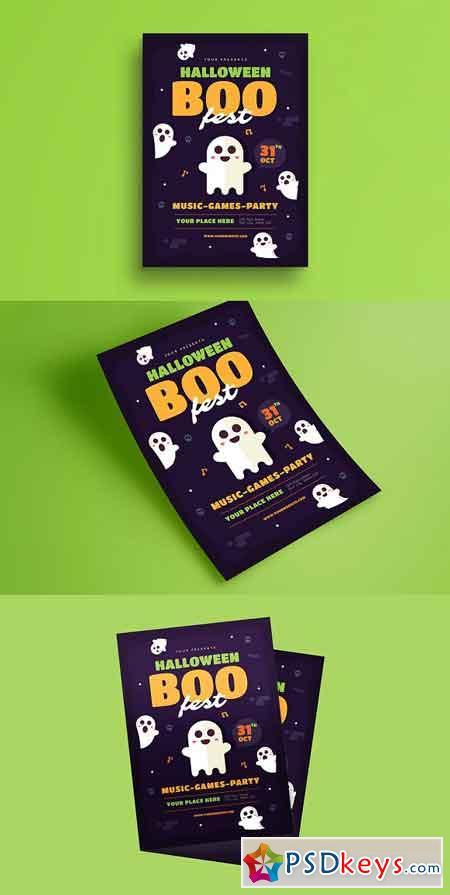 halloween boo festival flyer 1845717 - Halloween Party Music Torrent