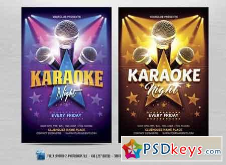 Karaoke  Free Download Photoshop Vector Stock Image Via Torrent