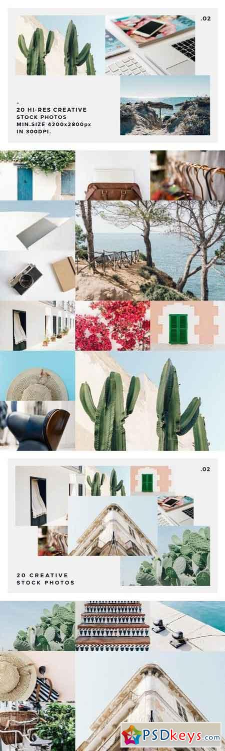 20 Stock Photos Creative Pack vol.2