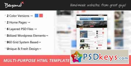 Beyond - Multi-purpose HTML Template 6320149