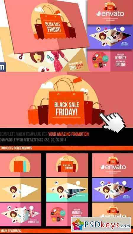 Black Friday Sale - Online Promo 9793777 - After Effects Projects
