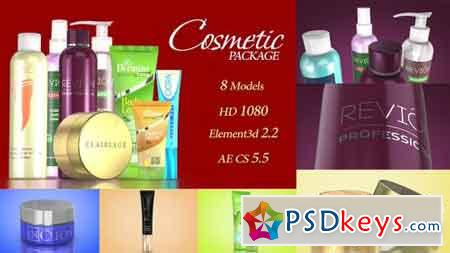 Cosmetic Package Template 19190180 - After Effects Projects