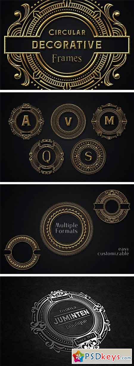 Circular Decorative Frames 1769815