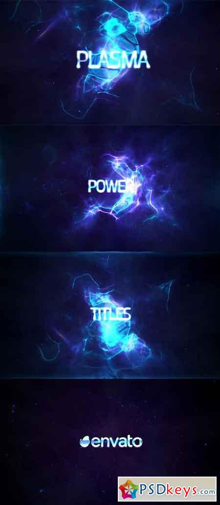 Power Light Plasma Titles 4K 19439243 - After Effects Projects