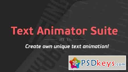 Text Animator Suite After Effects Script 14530455