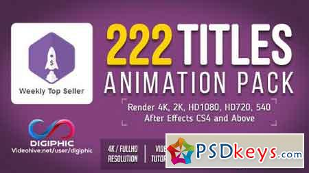 Titles Animation 19495140 - After Effects Projects