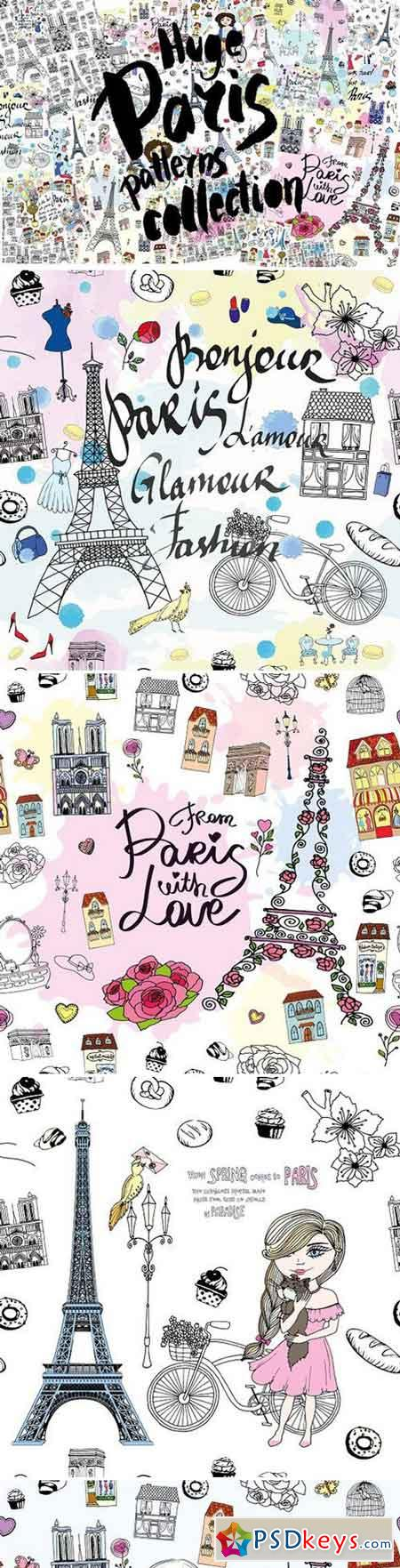 HUGE Paris patterns collection 1772420