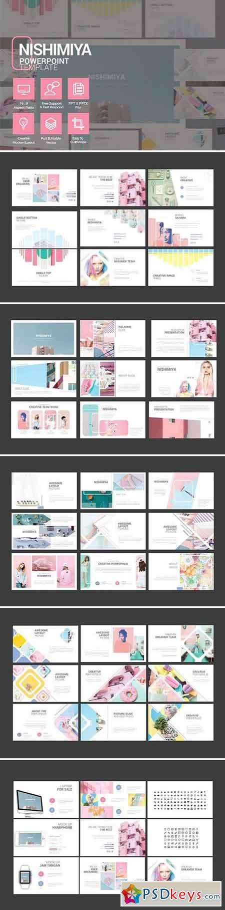 nishimaya - presentation template 1794067 » free download, Presentation templates