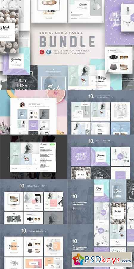 Bundle - Social Media Packs 1545587