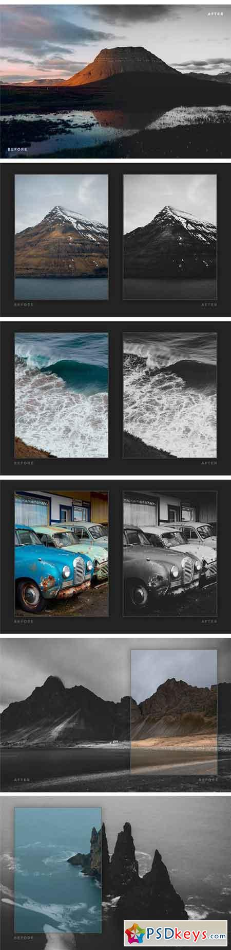 Matte Black & White Lightroom Presets 1851194