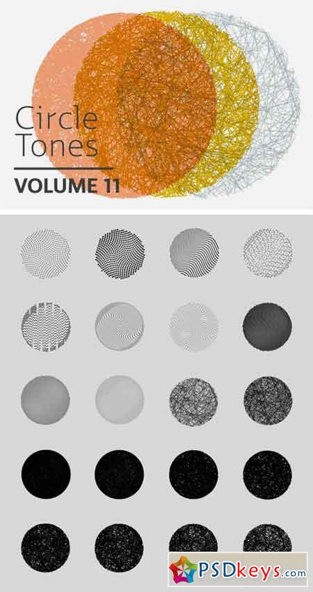 Circle Tones Vol. 11 20 Vectors 1831714