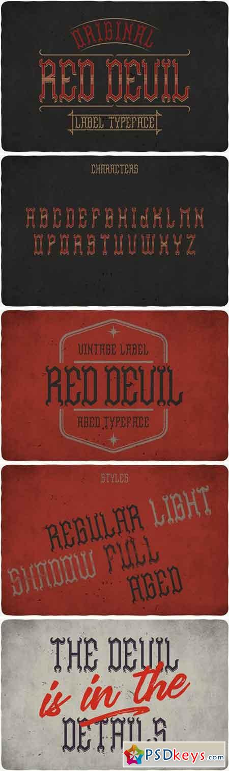 Red Devil Typeface 1820295