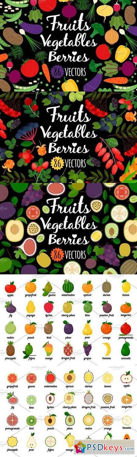 Vegetables, fruits, berries 1327298