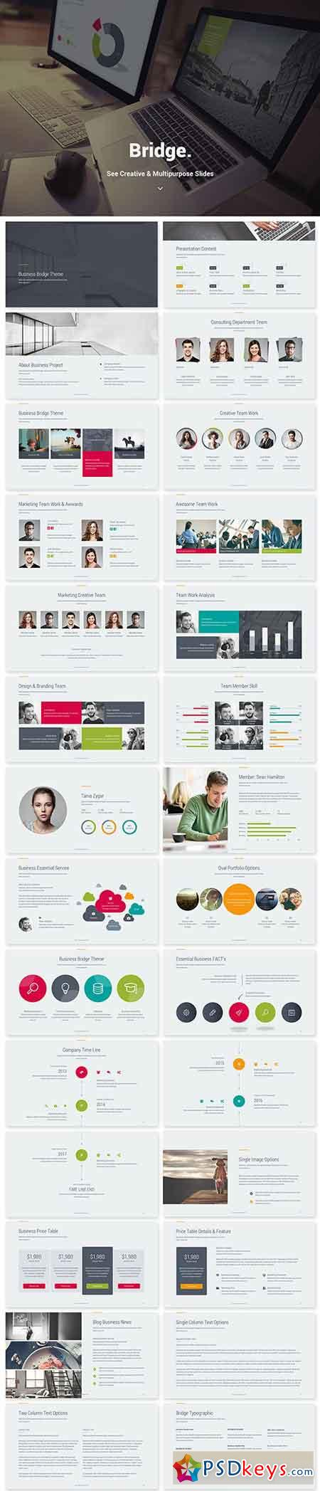 Bridge Creative Business Theme (Keynote) 20593939