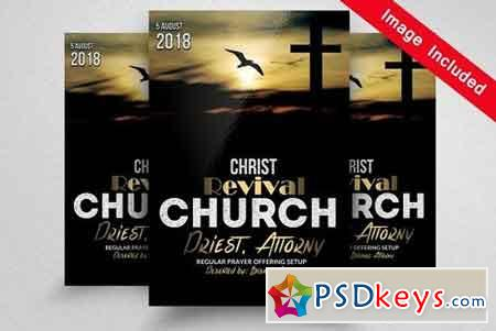 Revival Church Flyer Templates 1689513 Free Download Photoshop