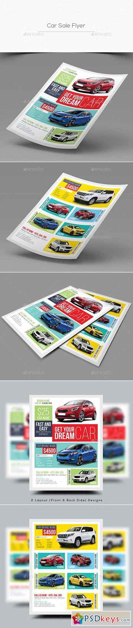 car Free Download Photoshop Vector image Via Torrent – Car Sale Flyer