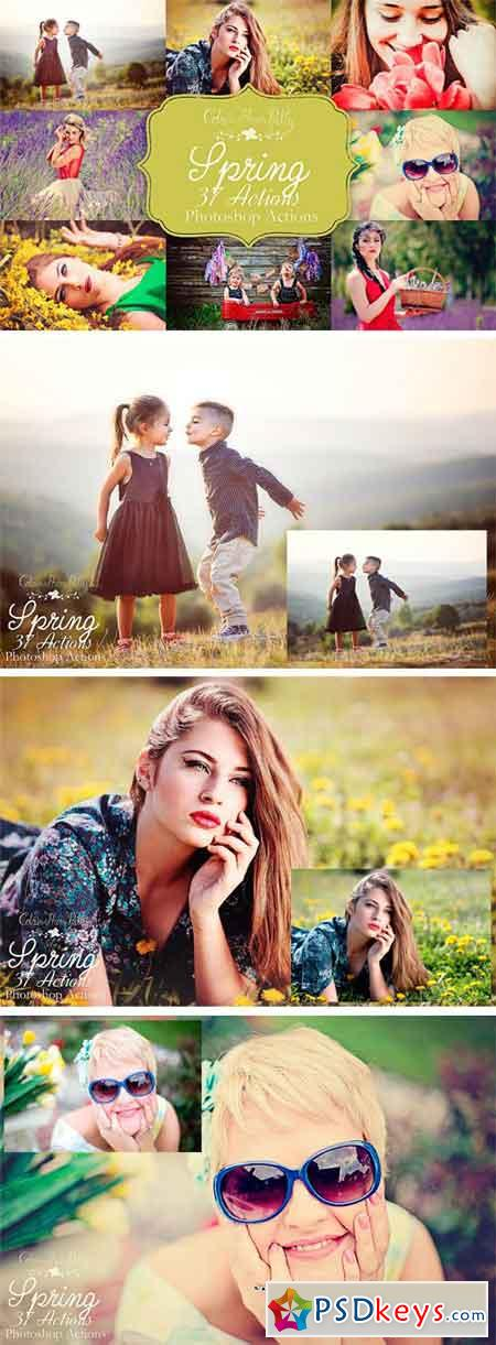 Spring Actions for Photoshop 1851565