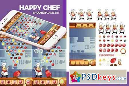 Happy Chef Ball Shooter Game Kit 1821604