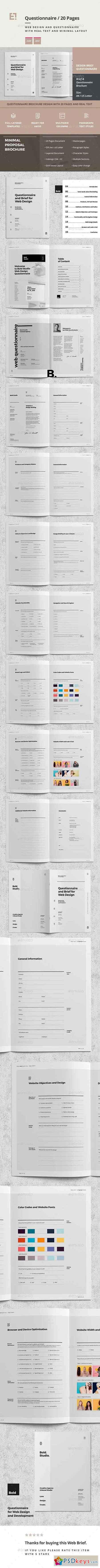 Questionnaire Web Design 20668773