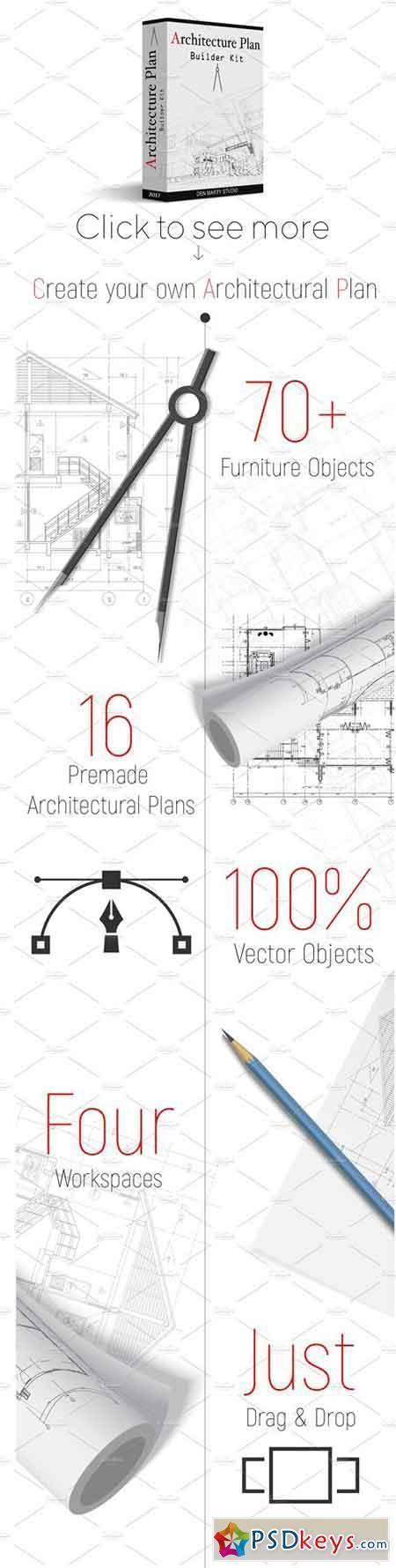 Architecture Floor Plan Builder Kit 1829510 Free Download