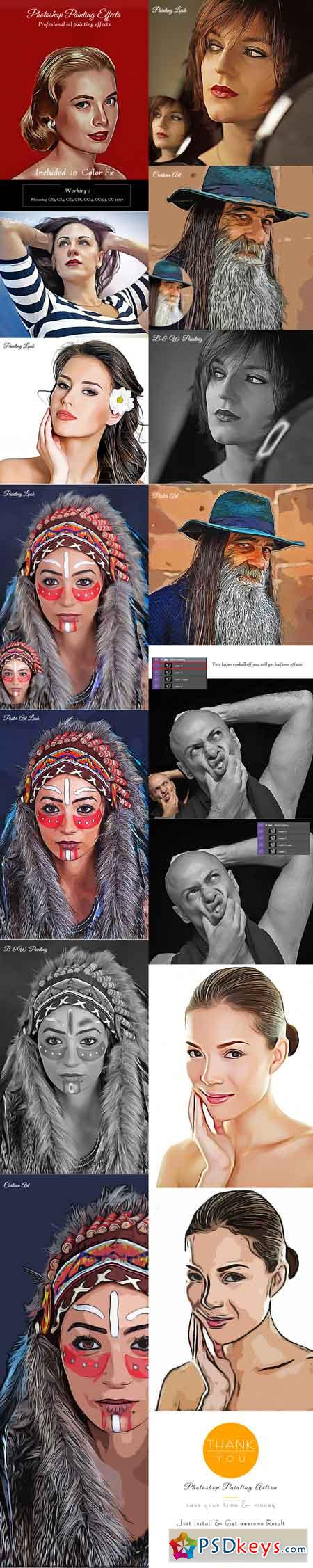 Photoshop Painting Effects 20659061
