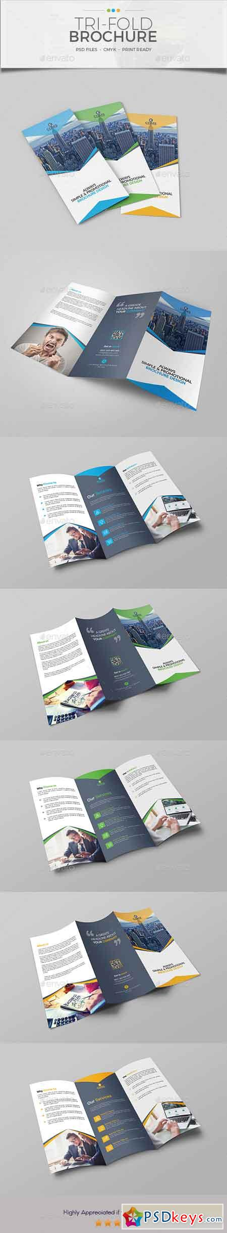 Trifold Brochure Template 15 20658275