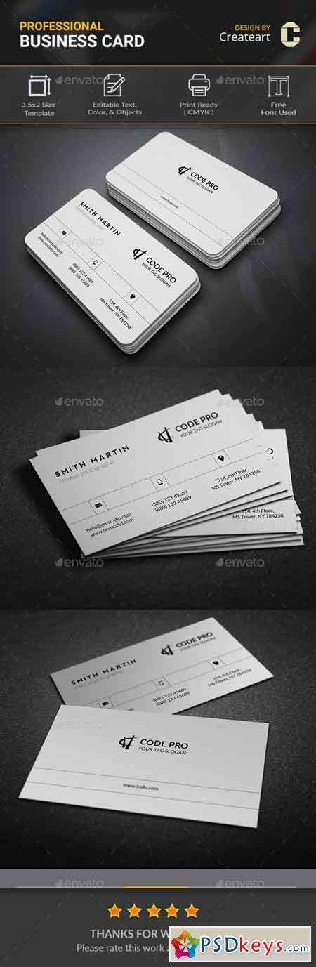Simple Business Card 20656958