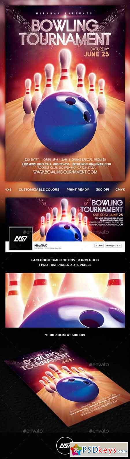Bowling Flyer 11841764  Bowling Flyer Template Free