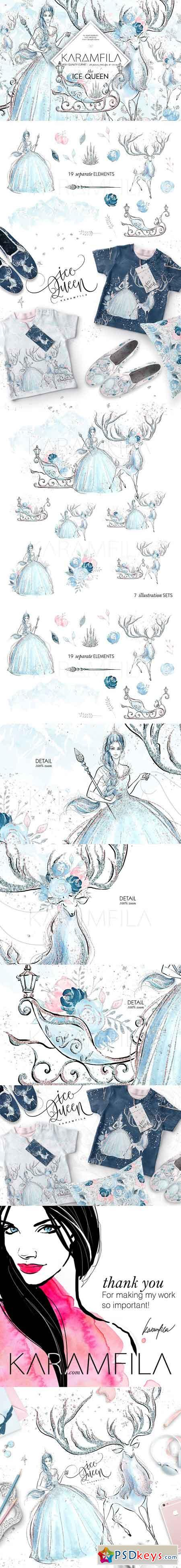 Ice Queen Clipart 1902780