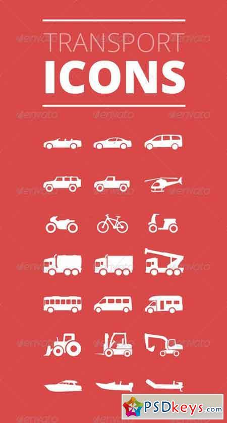 Transport Icons - Premium Vector Iconset 4591599