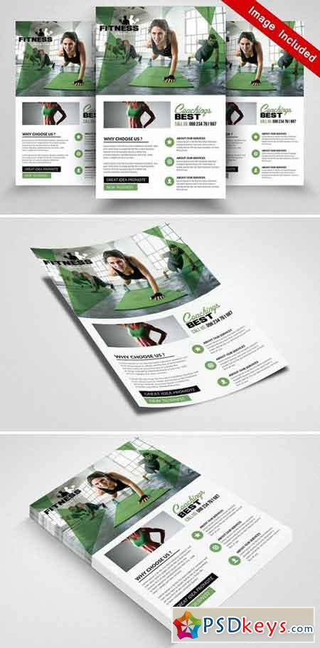 Body Fitness Flyer Templates 1870439