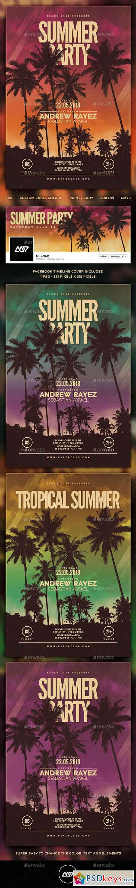 Summer Flyer Template 11514126