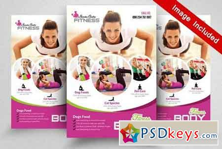 Gym Fitness Flyer Templates 1871106  Free Fitness Flyer Templates