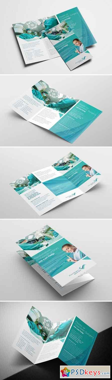 Plastic Surgery Trifold Brochure 1628485