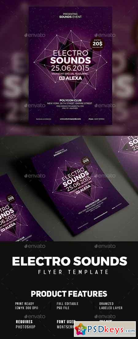 Electro Sounds flyer 18872669