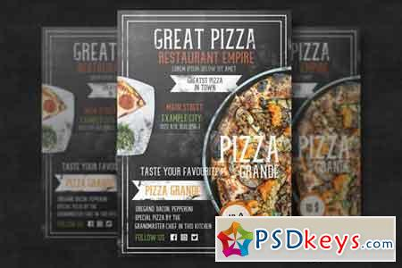 Restaurant Flyer Template 4