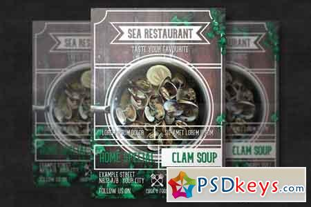 Restaurant Flyer Template 3