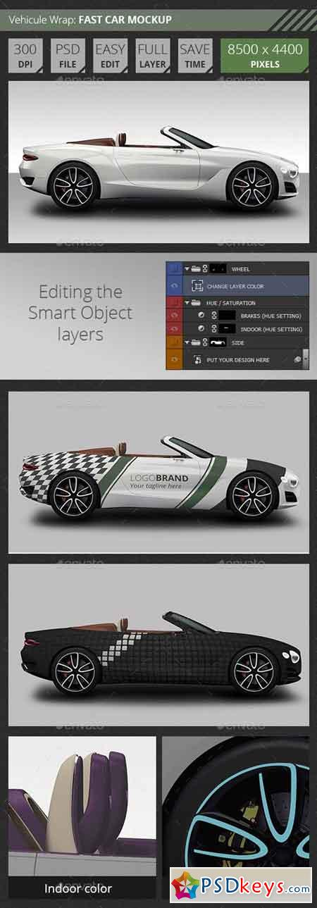 Easy Mockup For Bentley Fast Car 20716670