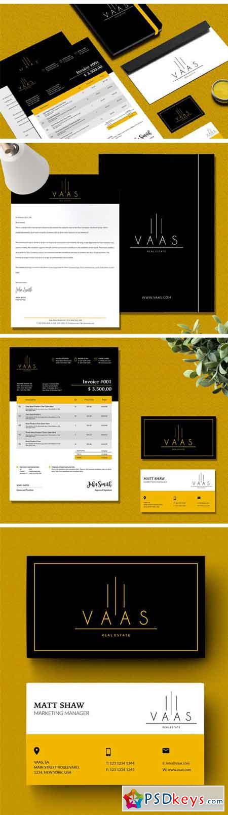 Stationery and Logo VAAS Included 1923394