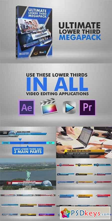 Lower Thirds Mega Pack - After Effects Projects