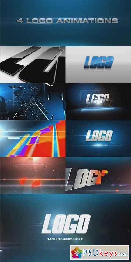 4 Logo Reveal - After Effects Projects