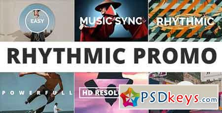 Rhythmic Promo 20547056 - After Effects Projects