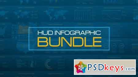 HUD Infographic Bundle 20484370 - After Effects Projects