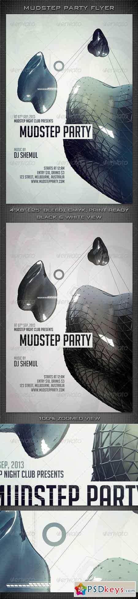 Mudstep Party Flyer 5500982