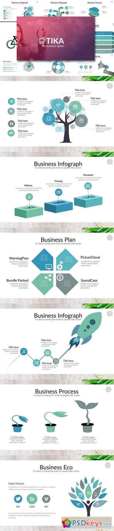 TIKA Powerpoint Template